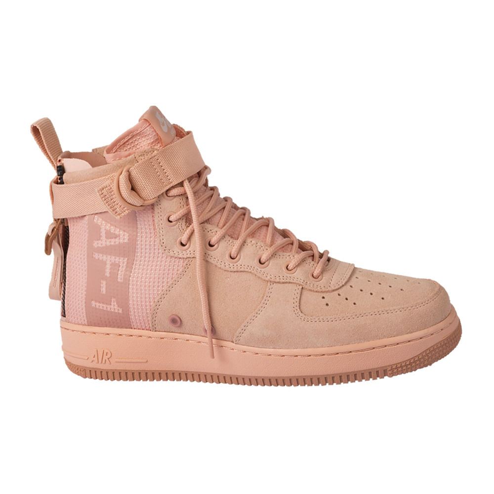 Tenis-Nike-Sf-Air-Force-1-Mid-Suede-Masculino-Rosa