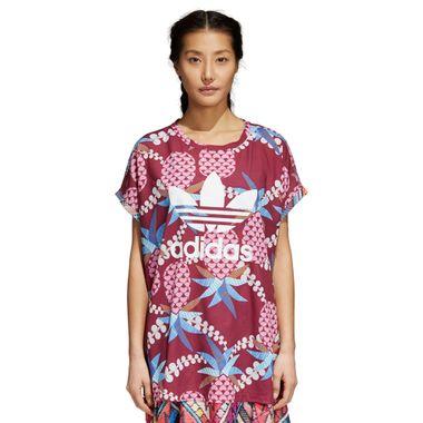Camiseta-adidas-Boxy-Farm-Feminina-Multicolor
