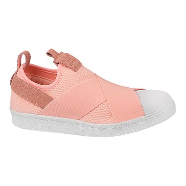 Tenis-adidas-Superstar-Slip-On-Feminino-Laranja
