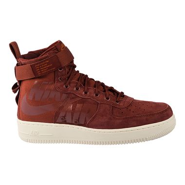 Tenis-Nike-Air-Force-1-SF-Mid-Masculino-Marrom