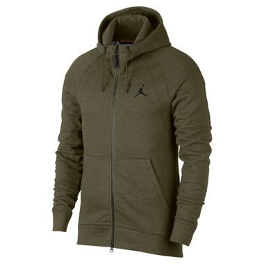 Jaqueta-Jordan-Wings-Fleece-Full-Zip-Masculina-Verde