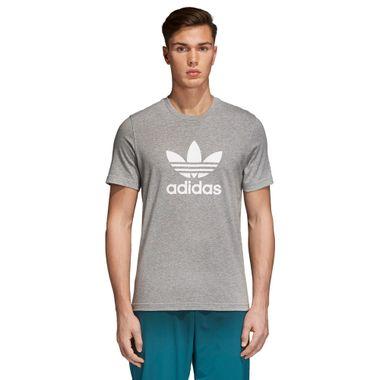 Camiseta-adidas-Trefoil-Masculina-Cinza