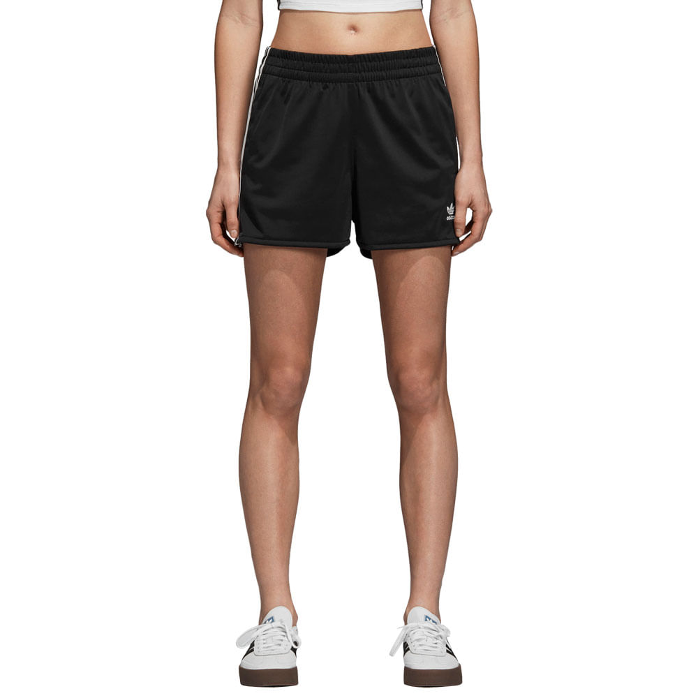Shorts-adidas-3-Stripes-Feminina-Preto