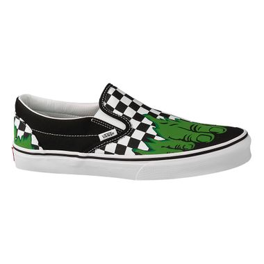 b335fb3cd70 Tênis Vans X Marvel Classic Slip-On Hulk