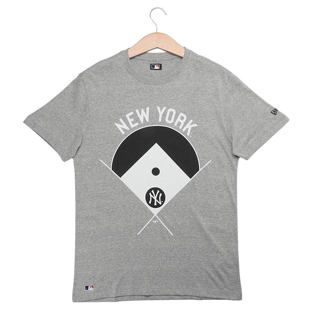 Camiseta New Era Blocked Player New York Yankees Masculina ... bbda2b7cad060
