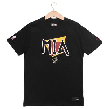 Camiseta-New-Era-90-S-City-Miami-Heat-Masculina-Preto