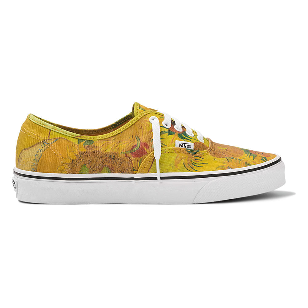 Tênis-Vans-Authentic-Vincent-Va-Gogh-Amarelo