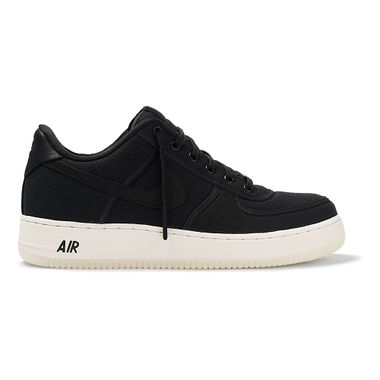Tenis-Nike-Air-Force-1-Low-Retro-QS-Canvas-Masculino-Preto