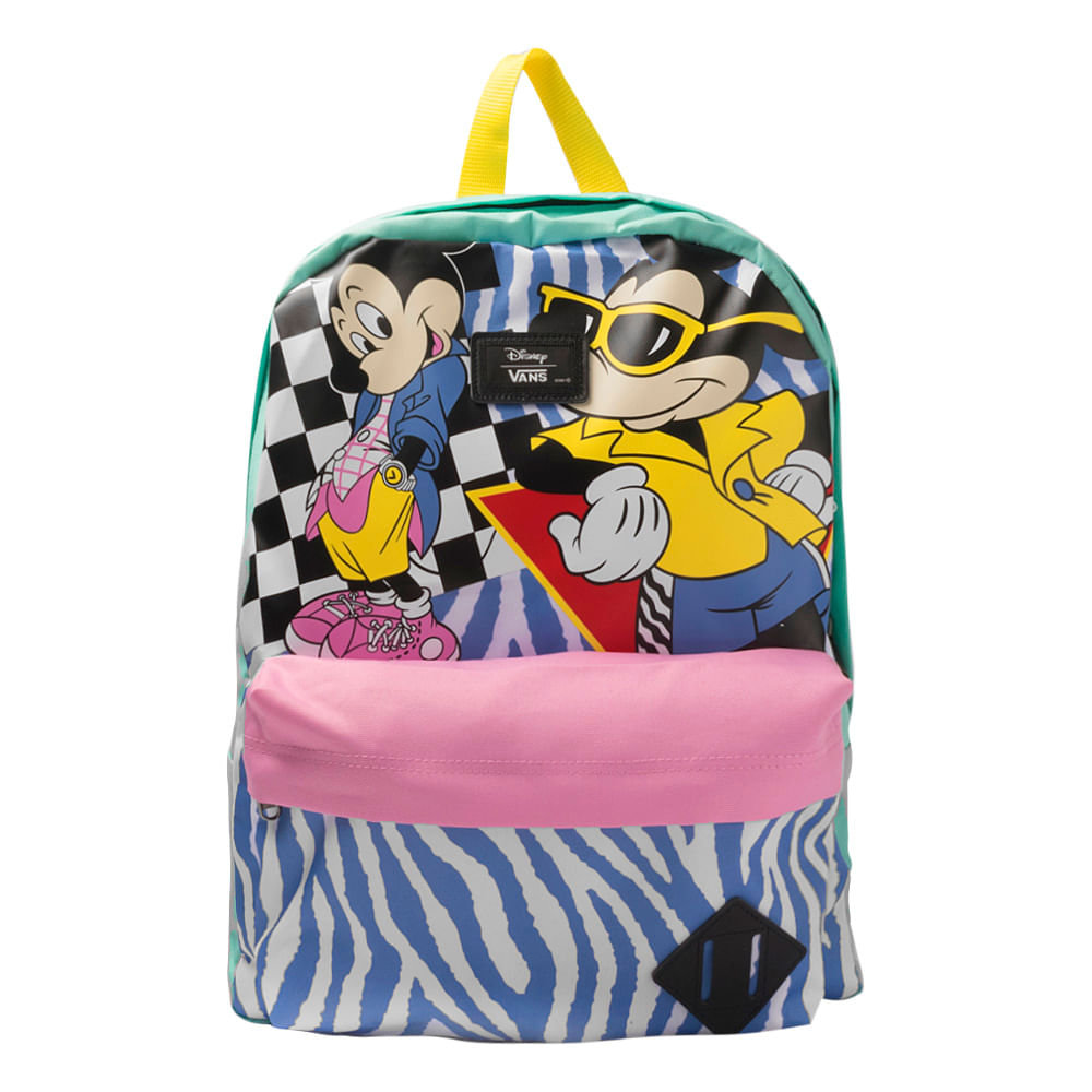Mochila Vans x Disney Old Skool II Back 80s Mickey Mouse  db398ce27d9