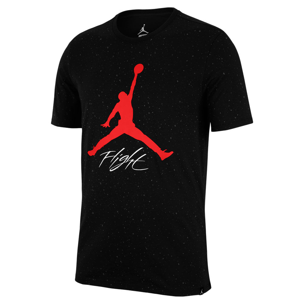 Camiseta-Jordan-Flight-Cement-Masculina-Preto