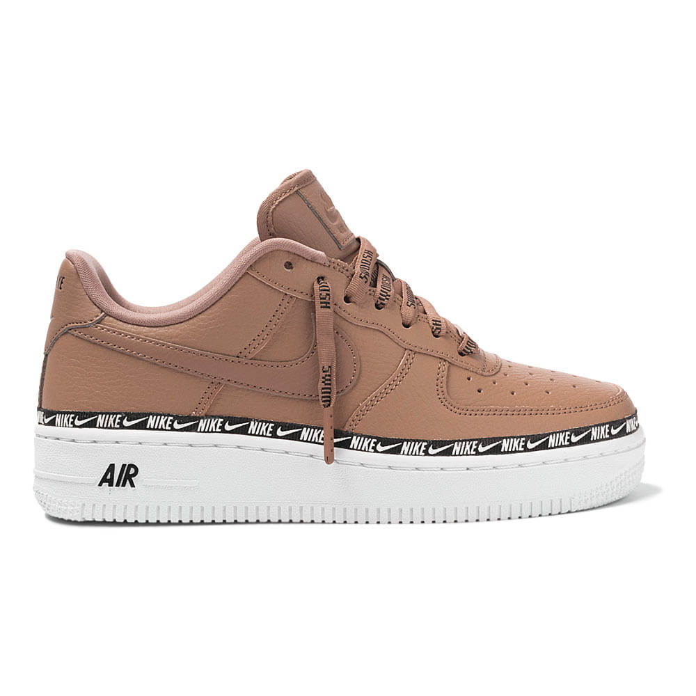 nike W AIR FORCE 1 '07 SE PRM PLUM CHALKOBSIDIAN MIST