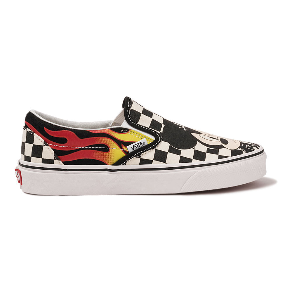 Tenis-Vans-x-Disney-Classic-Slip-On-Mickey---Minnie-Feminino-Amarelo