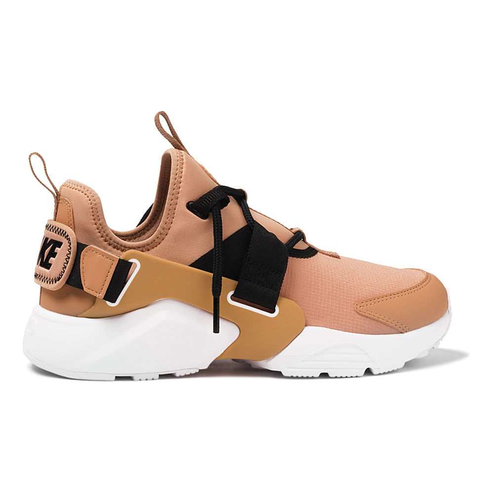 Tenis-Nike-Air-Huarache-City-Low-Feminino-Laranja