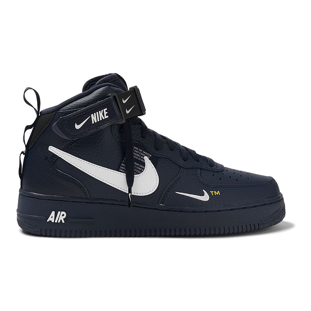Tenis-Nike-Air-Force-1-MID-07-LV8-Masculino-Azul
