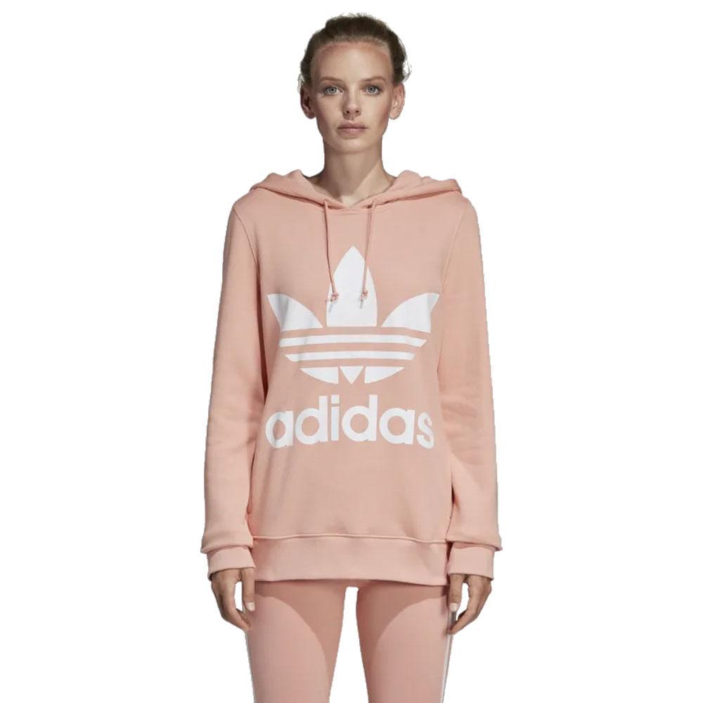 Blusao-adidas-Originals-Trefoil-Feminina-Rosa