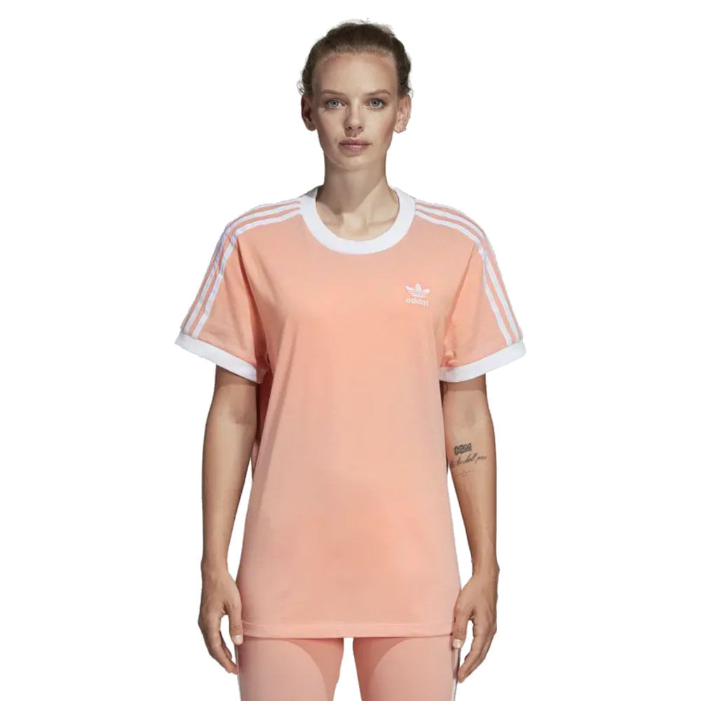 b2fac9dea Camiseta adidas 3-Stripes Feminina | Camiseta é na Artwalk - Artwalk