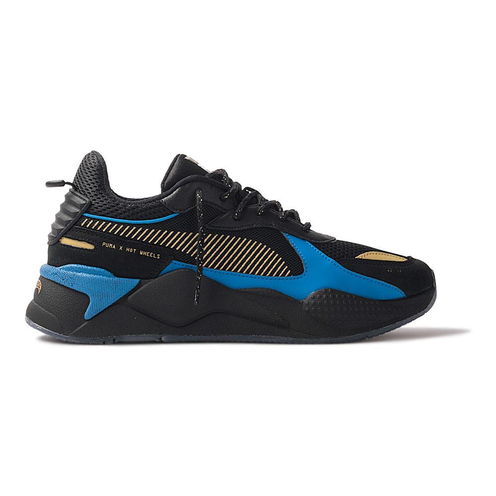 Tenis-Puma-X-Hot-Wheels-RS-X-Toys-Bone-Shaker-Masculino-Preto