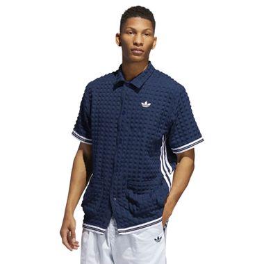 Camiseta-adidas-Check-Snap-Masculina-Azul