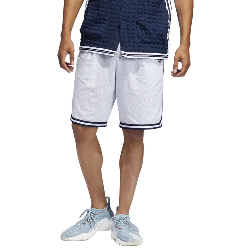 Shorts-adidas-Seersucker-Masculino-Branco