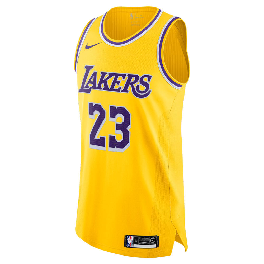 new arrival 7a06e 27f6c Jersey Nike NBA Lebron James Icon Masculina