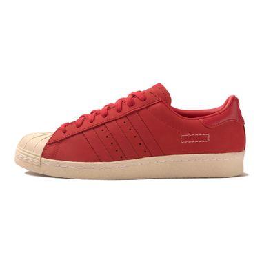Tenis-adidas-Superstar-80S-Masculino-vermelho