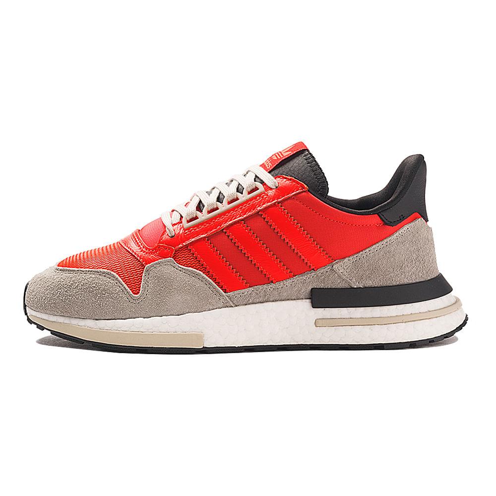 Tenis-adidas-Zx-500-RM-Masculino-Cinza