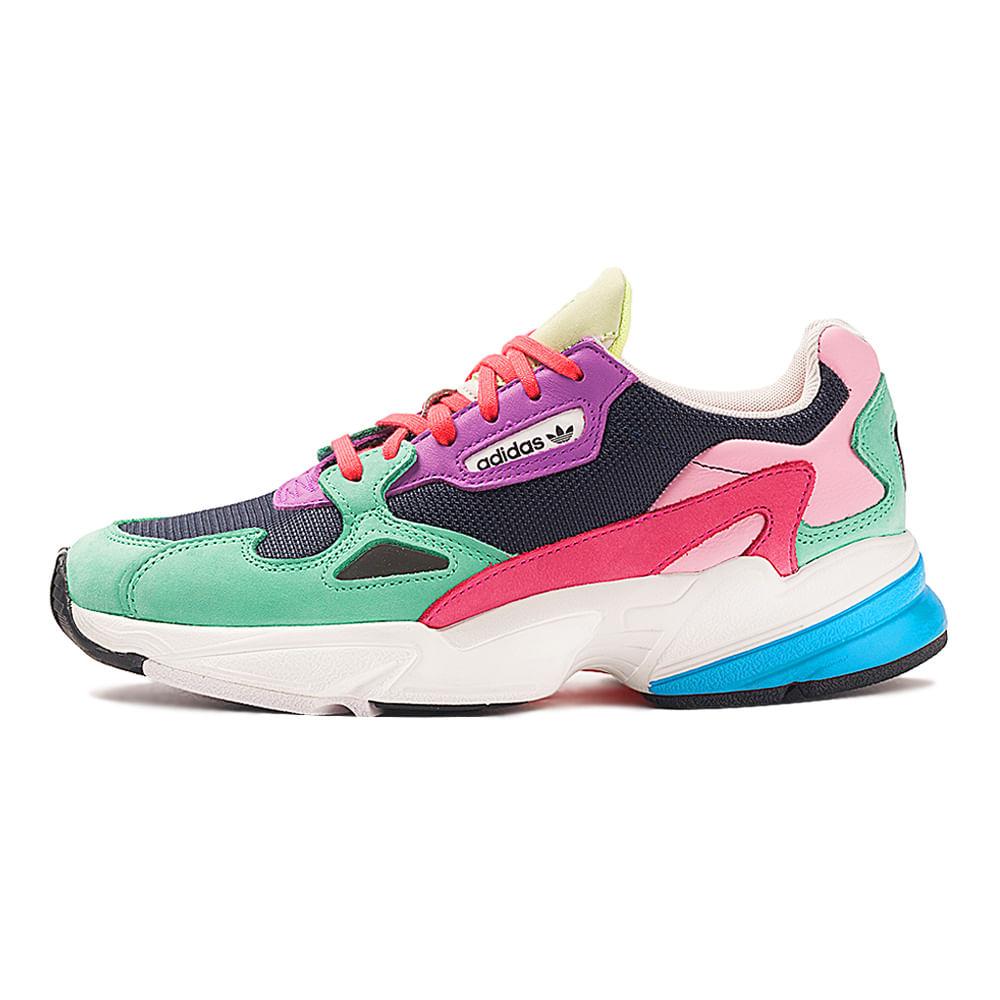 Tenis-adidas-Falcon-Feminino-Multicolor