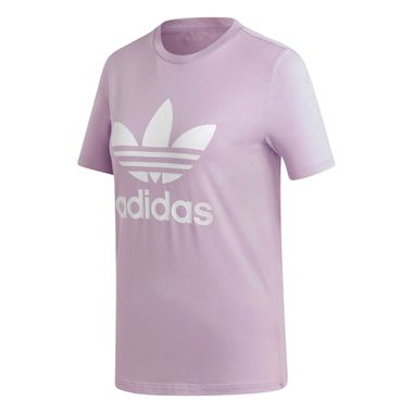 Camiseta-adidas-Trefoil-Feminina-Lilas
