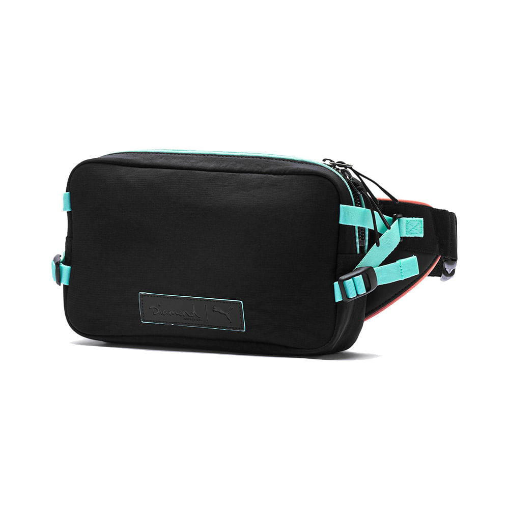 Pochete-Puma-X-Diamond-Cross-Body-Preto