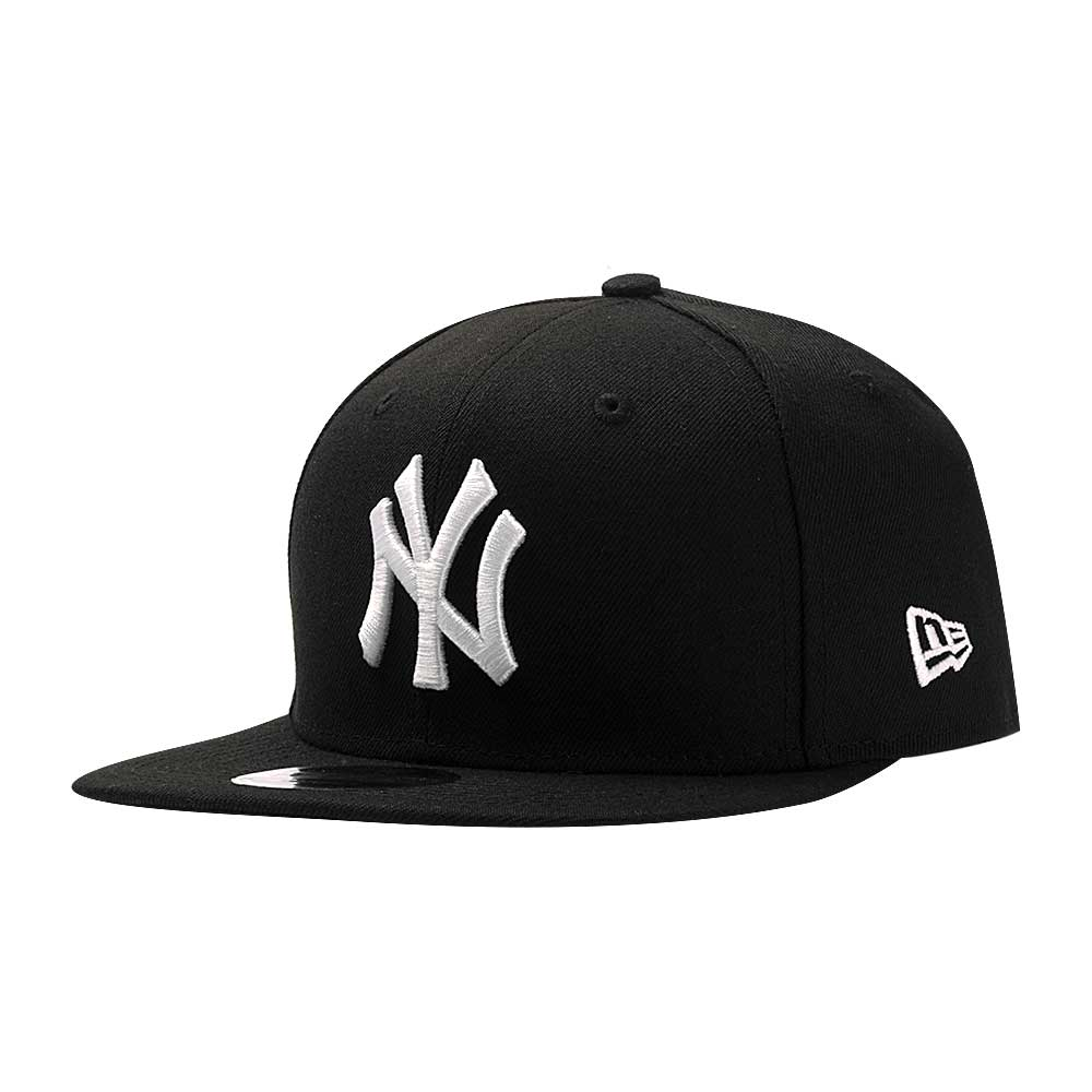 Bone-New-Era-9Fifty-OF-SN-Basic-Logo-Branco-New-York-Yankees-Masculino-Preto