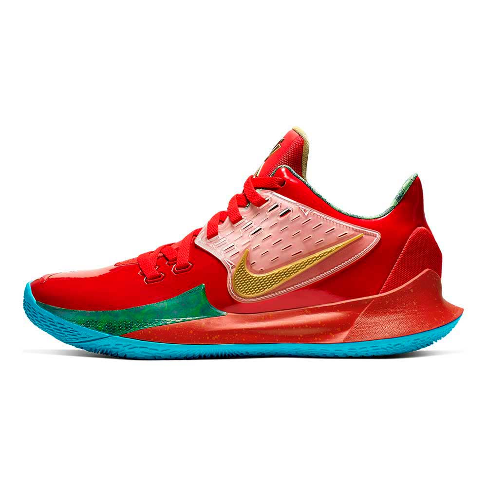 Tenis-Nike-Kyrie-Low-2-SpongeBob-Masculino-Vermelho
