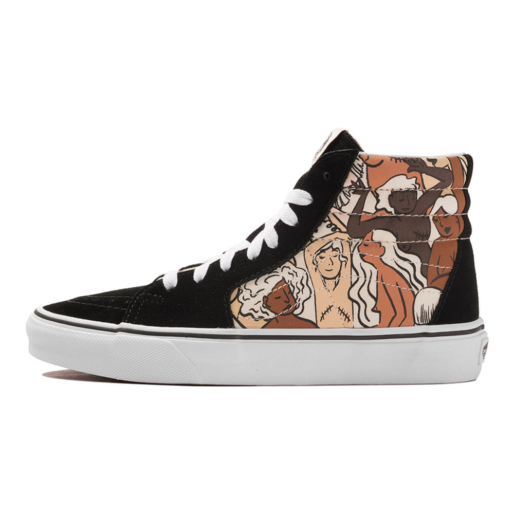 Renacimiento Conquistar Divertidísimo  Tênis Vans Sk8-Hi Breast Cancer | Tênis é na Artwalk - Artwalk