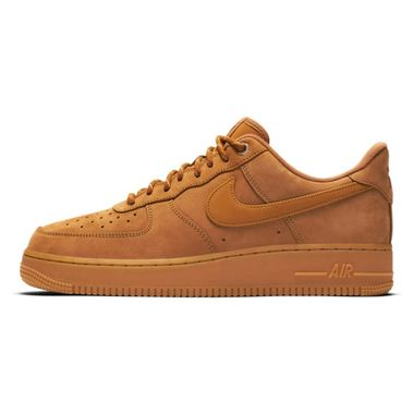 Tenis-Nike-Air-Force-1-07-WB-Masculino-Marrom