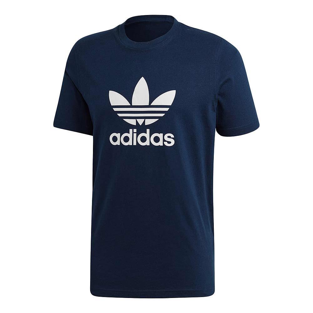 Camiseta-adidas-Originals-Trefoil-Masculina-Azul