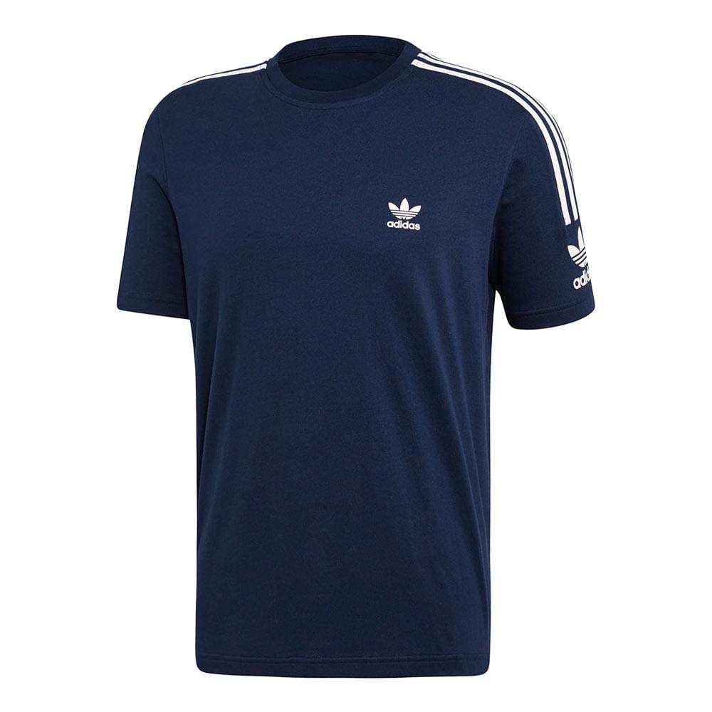 Camiseta-adidas-Originals-3-Stripes-Masculina-Azul