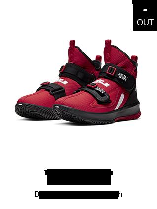 22_10_19 - Tênis Nike Lebron Soldier XIII SFG Vermelho AR422-5-600