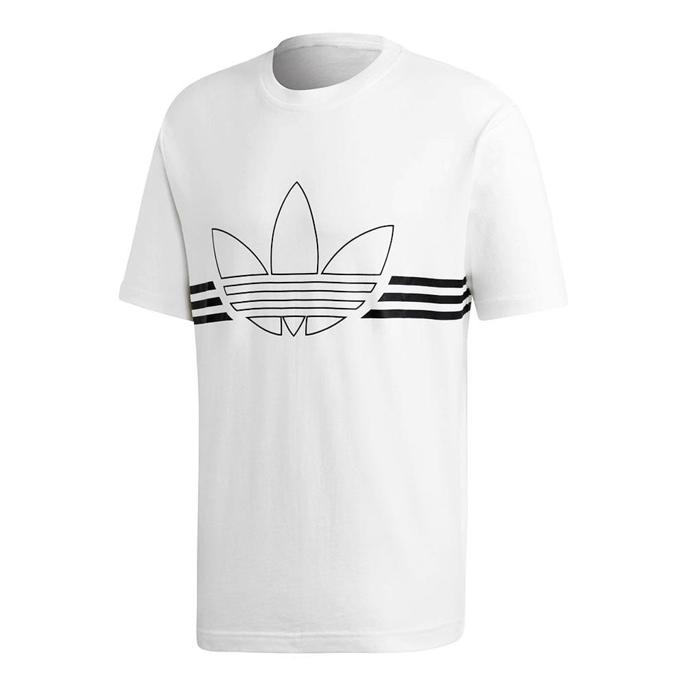 Camiseta-adidas-Originals-Trefoil-Masculina-Branca