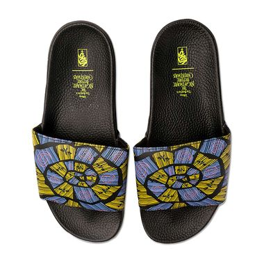 Chinelo-Vans-X-Disney-Slide-On-Preto