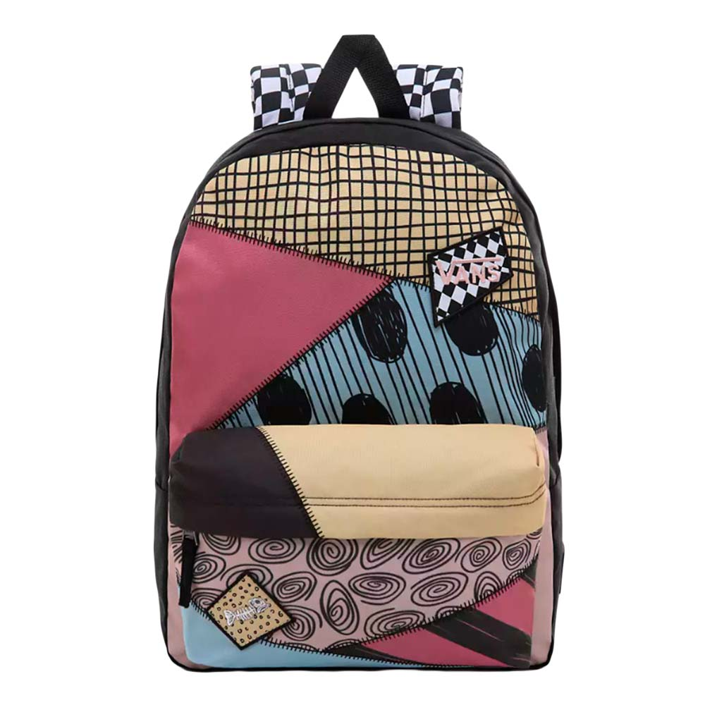Mochila-Vans-X-Disney-Sally-Patchwork-Realm-Multicolor