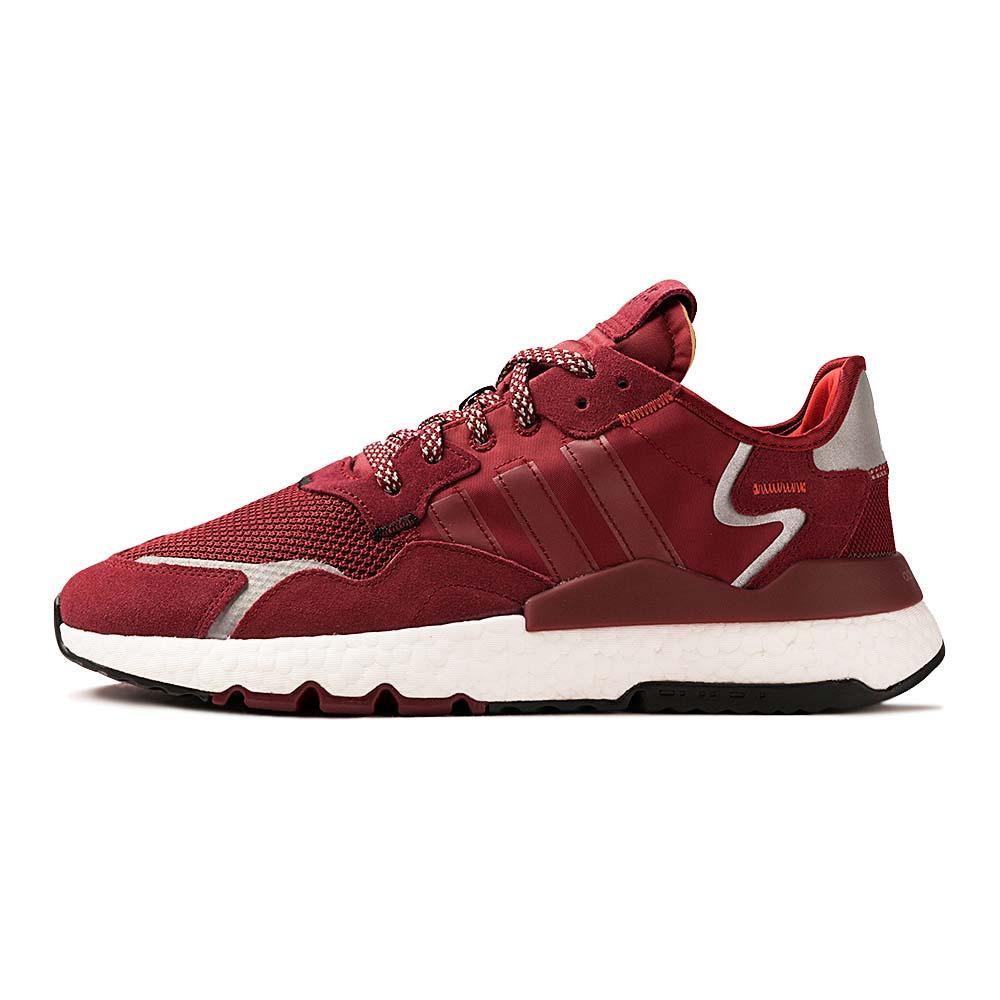 Tenis-adidas-Nite-Jogger-Masculino-Vermelho