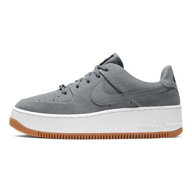 Tenis-Nike-Air-Force-1-Sage-XX-Feminino-Cinza