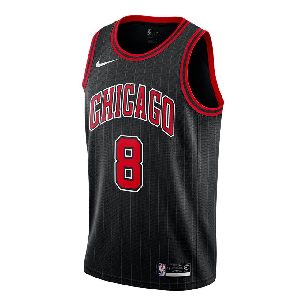 Jersey-Nike-NBA-Chicago-Bulls-Swingman-Masculina-Preta