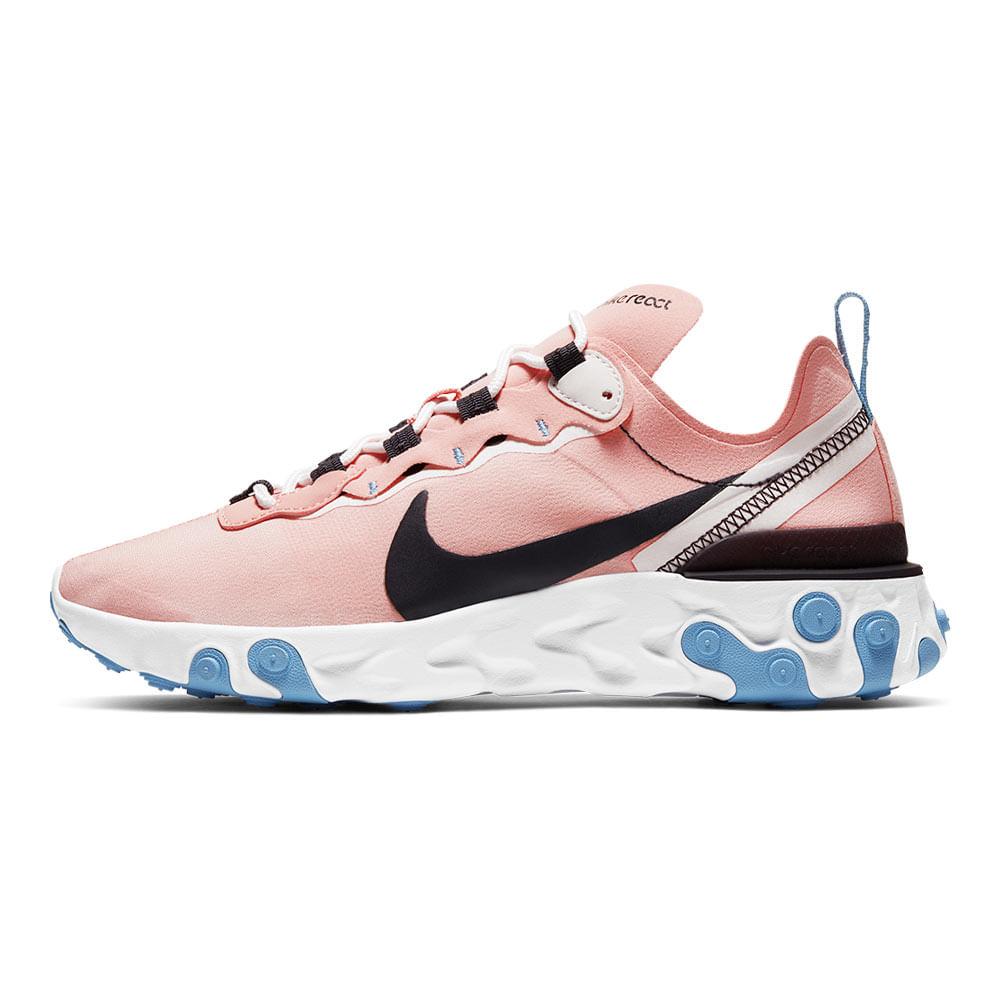 Tenis-Nike-React-Element-55-Feminino-Rosa