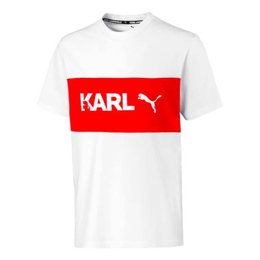 Camiseta-Puma-X-Karl-Masculina-Branca