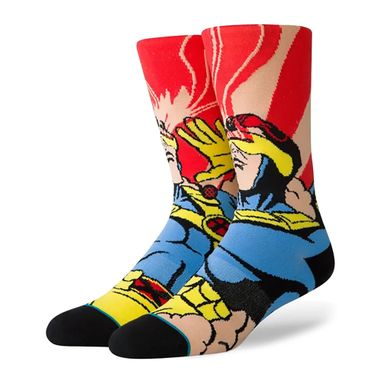 Meia-Stance-X-Men-Cyclops-Multicolor