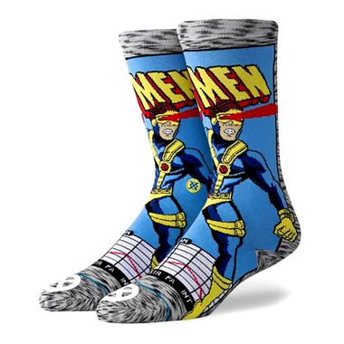 Meia-Stance-Cyclops-Comic-Multicolor