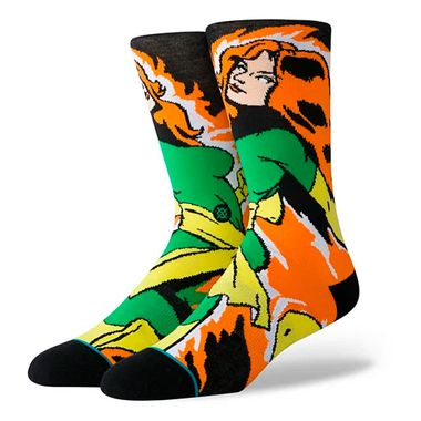 Meia-Stance-X-Men-Jean-Grey-Multicolor