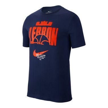Camiseta-Nike-Lebron-Dry-Masculina-Azul