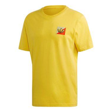 Camiseta-Adidas-Diagonal-Emblem-Masculina-Amarela