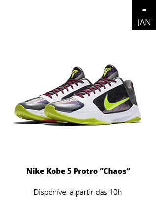 18_01_19 - Tênis Nike Kobe 5 Protro Chaos Branco CD499-1-100